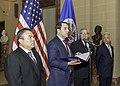 Ambassador Trujillo Presents Credentials to OAS Secretary General Almagro (27386324538).jpg