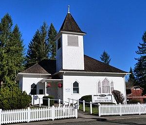 National Register of Historic Places listings in Clark County, Washington - Image: Amboy United Brethren Church 1 Amboy Washington