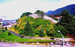 Castle Hill (Sitka, Alaska) United States historic place