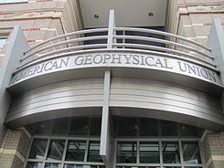 American Geophysical Union building, front entrance.jpg
