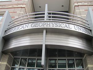 American Geophysical Union - Image: American Geophysical Union building, front entrance