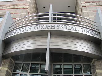 American Geophysical Union - Front entrance to AGU building