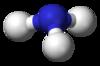 Ammonia-3D-balls