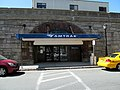 Amtrak entrance at Springfield, May 2013.JPG