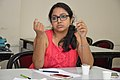 Ananya Mondal Talks - West Bengal Wikimedians Strategy Meetup - Kolkata 2017-08-06 1672.JPG