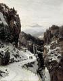 Anders Andersen-Lundby - Vinterdag i de bayerske bjerge - 1886.png
