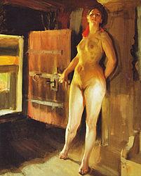 Anders Zorn: Girl in the Loft