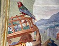 Andrea del sarto, tributo a cesare, 1519-21 (con aggiunte dell'allori del 1578-82) 03.JPG