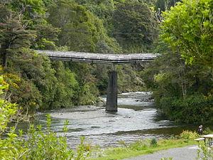 Birchville - Andrews Bridge on 31 Oct 2015 (post failure)