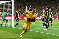 Andriy Shevchenko goal celebration Euro 2012 vs Sweden.jpg