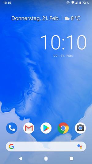 Android Pie 9.0 Startbildschirm.png