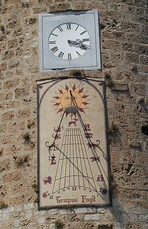 Anduze - Image: Anduze Cadran Solaire