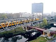 Bridges over the Landwehrkanal in Kreuzberg