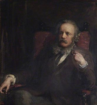 Anna Lea Merritt - Portrait of her husband, Henry Merritt, 1877