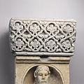 Anonyme toulousain - Bas-relief , Lianes en losanges festonnés et fleurons - Musée des Augustins - ME 95.jpg