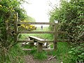 Another stile near windcutter hill. - geograph.org.uk - 1302642.jpg