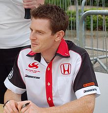 photo d'Anthony Davidson qui rejoint Super Aguri en 2007