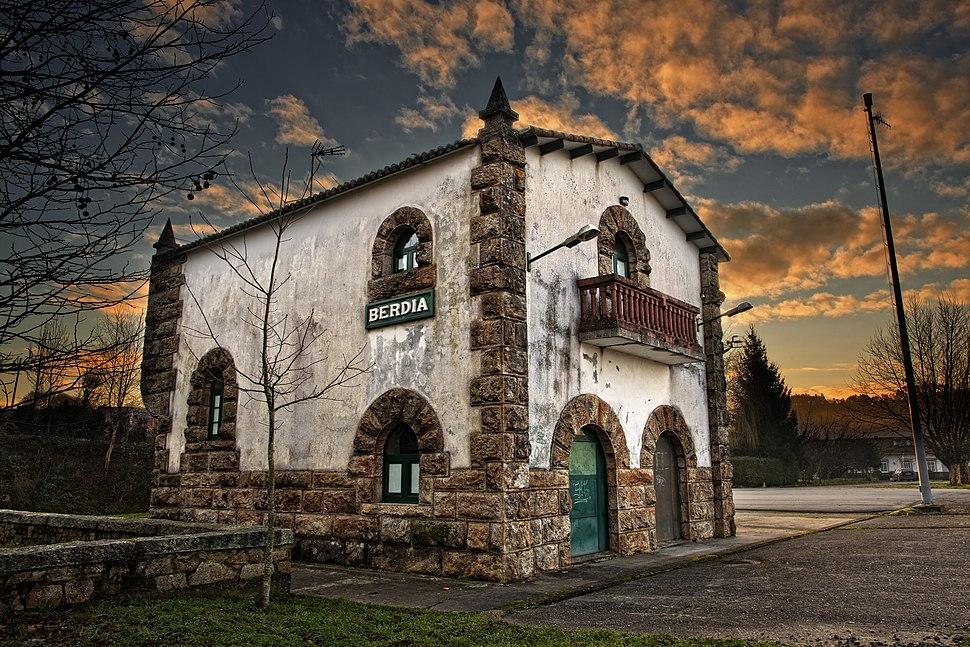 Antiga estación de Verdía, Santiago de Compostela
