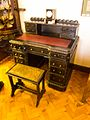 Antique writing desk (23591776972).jpg