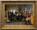 Anton von werner, un acquartieramento militare presso parigi, 1894, 00.jpg