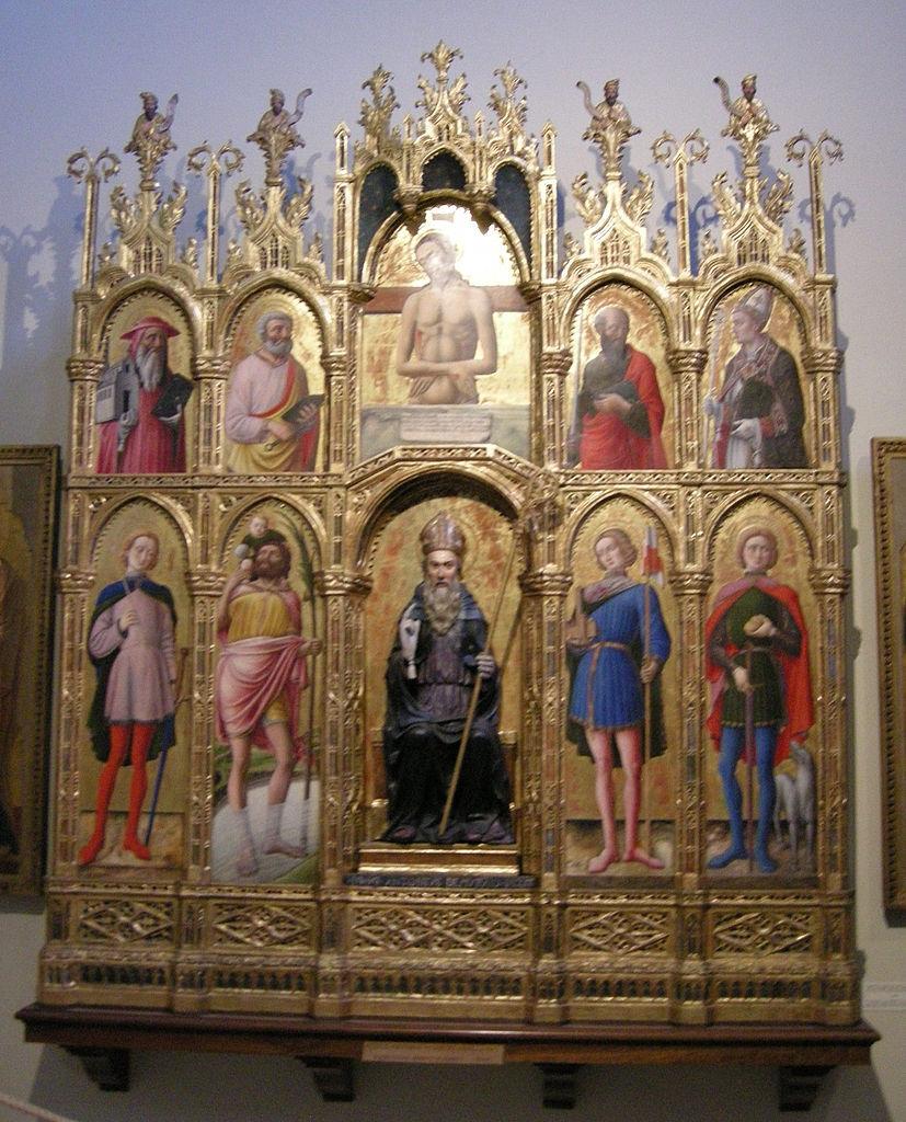File antonio vivarini polittico di sant 39 antonio abate for Arredo bimbo sant antonio abate