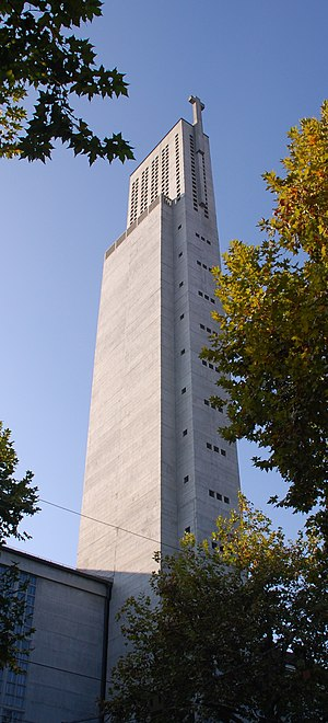 Karl Moser - Kirche St. Anton in Basel (1927) in the modernist style