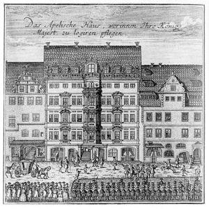 Preise dein Glücke, gesegnetes Sachsen, BWV 215 - Palace of the Elector in Leipzig