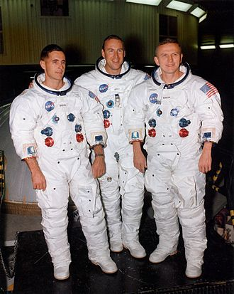 William Anders - Anders, left, with fellow Apollo 8 crewmates Jim Lovell and Frank Borman