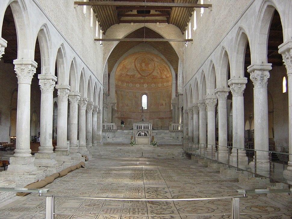 Aquileia, Basilica. Interno - Foto Giovanni Dall'Orto