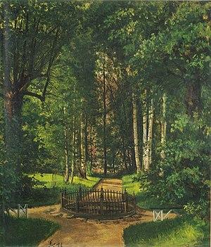 Gulskogen - Fra Gulskogen Peter Nicolai Arbo (1871)