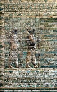 200px Archers frieze Darius 1st Palace Suse Louvre AOD 488 a - بابک خرمدین