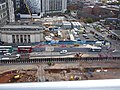 Arena Central from the Secret Garden - Midland Metro extension to Centenary Square (37427926116).jpg