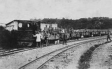 chemin de fer militaire � wikip233dia