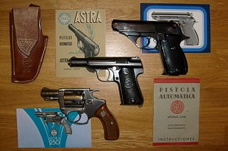 This is an Argentine Sistema Colt Model 1927 semi-automatic pistol ...