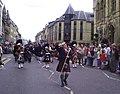 Armed Forces Day - Parade to Inverness Highland Games 2012 Scotland (Massed Pipe Bands) (7618397232).jpg