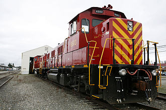 National Railway Equipment Company - New NRE 3GS21B locomotives delivered to the U.S. Army.