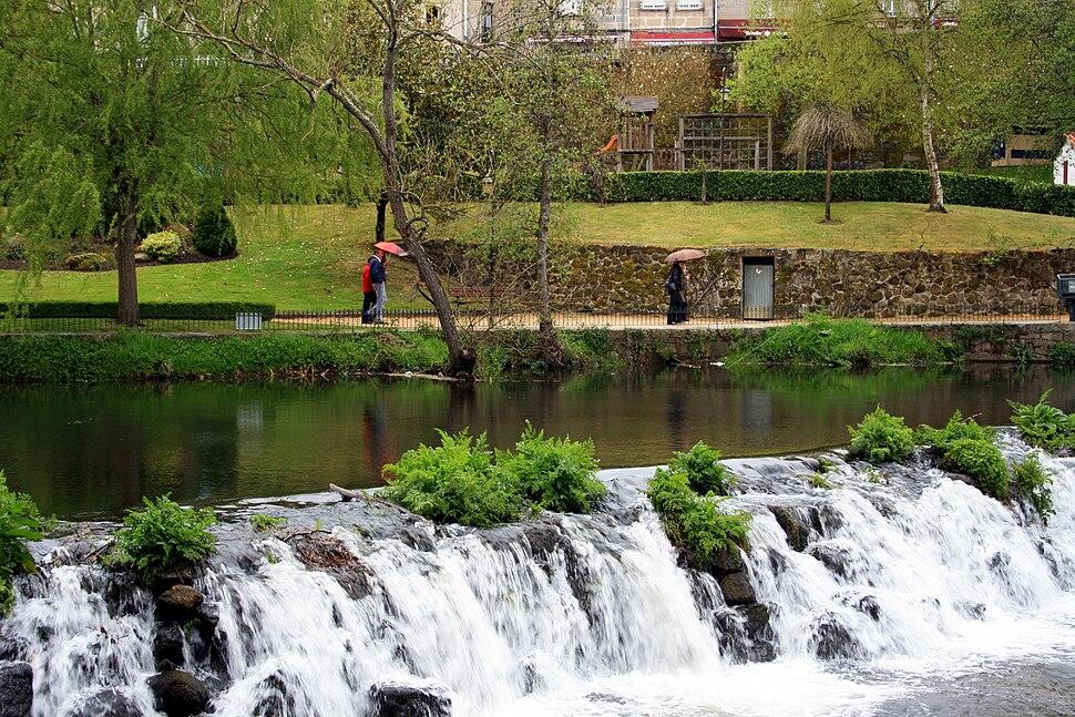 Arnoia river in Allariz, Ourense, Galicia