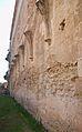 Arrancades de nervis gòtics al lateral de l'església, cartoixa de Valldecrist.JPG