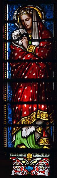 File:Ars-sur-Formans Basilique Vitrail 21102015 07 Sainte Agathe.jpg