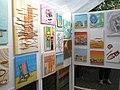 Art exhibits in Whitethorn Road - geograph.org.uk - 1299825.jpg