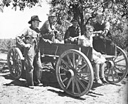 Arthur Rothstein Family in a wagon Lee County August 1935