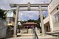 Asato-Hachimangū Gate.JPG