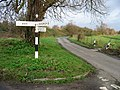 Ash-Sandwich-Cooper Street finger post, Goss Hall - geograph.org.uk - 308054.jpg