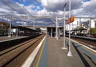 Ashfield railway station, Sydney railway station in Sydney, New South Wales, Australia