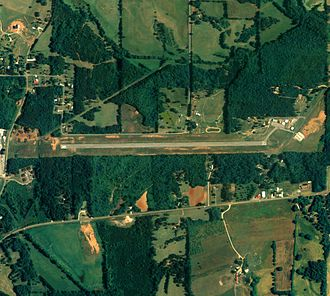 Ashland/Lineville Airport - NAIP aerial image, 15 June 2006