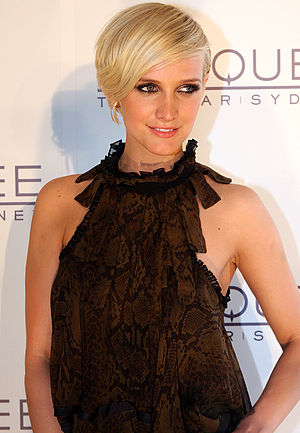 Ashlee Simpson - Simpson at the opening of Marquee nightclub at The Star in Sydney, Australia, April 2012