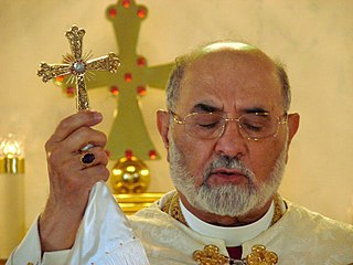 Dinkha IV 20th- and 21st-century Patriarch of the Church of the East