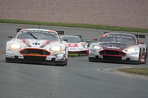 2011 FIA GT1 World Championship -  Aston Martin were represented in the championship by Young Driver AMR and Hexis AMR teams