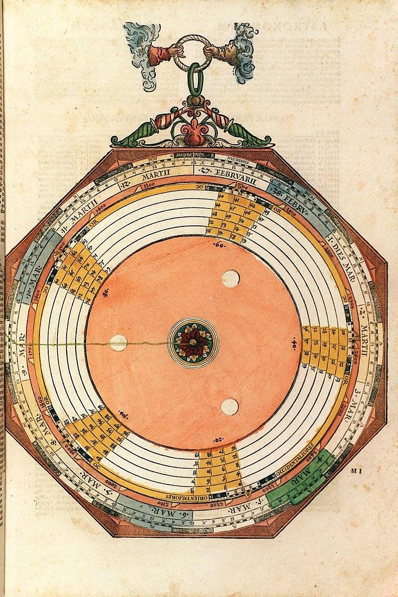Astronomicum Caesareum (1540).f33.jpg