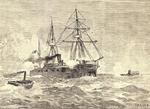 ספינות טורפדו תוקפות ספינת מלחמה במלחמת האזרחים הצ'יליאנית